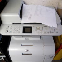 HP Color LaserJet CM2320fxi multifunktiongerät